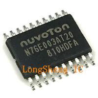 10PCS  N76E003AT20 TSSOP-20 Nuvoton Compatible Replacement STM8S003F3P6 new