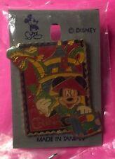 China, 1997 Epcot Stamp, 15th Anniversary Disney Pin (On Card)