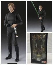 S.H.Figuarts Star Wars Luke Skywalker Jedi Knight Action Figure Figurine 15cm IB