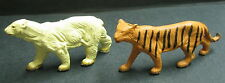 Figurines CLAIRET FRANCE - Animaux Tigre et Ours blanc
