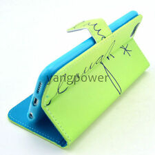 Apple iPhone 4 4S 4G Fashion Wallet Stand Flip PU Leather Cover Case UK SELLER A