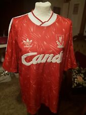 Vintage Retro Liverpool FC Home 1989-1991 Candy Size Large
