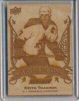 2019-20 Upper Deck Engrained Carved In Time 26 Keith Tkachuk Coyotes
