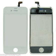Spare parts Glass + Touch Screen for iPhone 4S White - No Slide Screen LCD