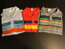 Rare Lot of 3 Vintage Surf Skate Ocean Pacific Op Large Polo