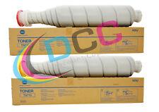02XJ Lot OF 2 Bizhub 600 601 750 751 Toner Cartridge TN710