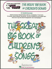 The Great Big Book of Children Songs E-Z Play Today Easy Keyboard Music Book