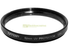52mm. filtro UV Protector Tiffen made in USA. Ultra Violet filter.