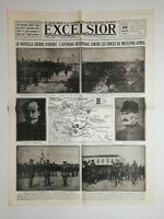N1039 La Une Du Journal Excelsior 26 juin 1920 la nouvelle guerre d'Orient