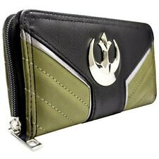 NEW OFFICIAL STAR WARS ROGUE ONE JYN GREEN COIN & CARD CLUTCH PURSE