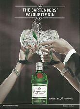 TANQUERAY London Dry Gin Print Ad # 38 9