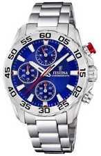 Festina   Roestvrij Stalen Armband Unisex / Junior F20457/2 Horloge