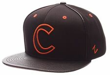 Clemson Tigers~Ball Cap Hat~Zephyr Ion Series~BLACK~Snapback~NCAA~ACC~Ships FREE