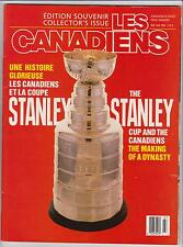 Les Canadiens Magazine Apr-May 1990 (Include 8 Kraft Post Card) (A289)