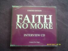 FAITH NO MORE-INTERVIEW CD 1992 PROMO