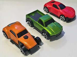 Teamsterz street machines toy cars all metal body plastic chassis and wheels.