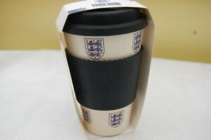 England Football Eco Outdoor Coffee Tea Hot Drinks Thermos Cup Mug Flask
