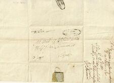 Lettera del Podestà di S. Ginesio al Priore di Ripe 1830