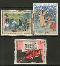 SERIE TABLEAUX 1457-1459 NEUF XX - SERIE DE 3 TABLEAUX