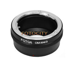 Olympus OM lens to Micro M43 M4/3 Adapter for E-P1 E-P2 E-PL1 GF1 GF2 G1 G2 GH1