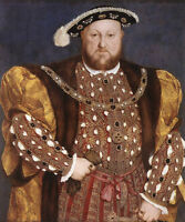 Dream-art Oil painting Holbein Hans - Male Portrait of Henry VIII hand painted