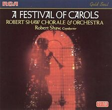 A Festival of Carols / Robert Shaw Chorale & Orchestra Robert Shaw Audio CD