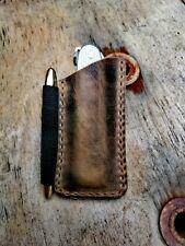 Victorinox Farmer/Victorinox Pioneer X Fisher Space Pen Leder Pouch Custom
