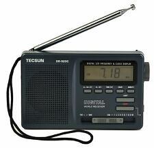TECSUN DR-920C Digital FM/MW/SW World Band Radio Stereo Receiver Dark Grey Color