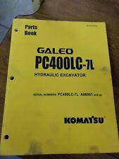 KOMATSU  PC400LC-7L  PARTS BOOK