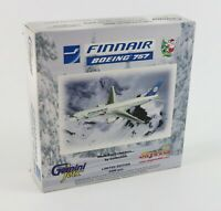 "NEW - Gemini Jets "" FINNAIR BOEING 757-200 "" Diecast 1:400 Scale Airplane OH-LBR"