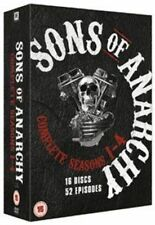 Sons of Anarchy Complete Seasons 1-4 5039036054904 DVD Region 2