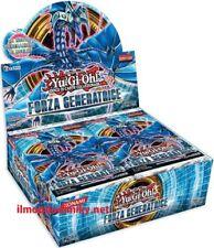 Yu-Gi-Oh! box Forza Generatrice unlimited  24 buste italiano