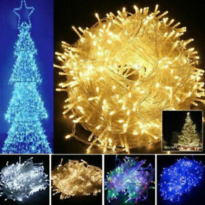 20M 30M 50M 100M LED Fairy String Lights Waterproof Outdoor Christmas Party Lamp