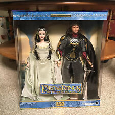 Barbie Doll and Ken as Arwen & Aragorn In Lord of the Rings Gift Set 2003