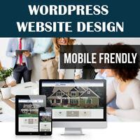 5 Page Website Design Service - Mobile Frendly - Professional Web Design