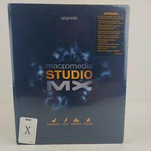 Macromedia Studio MX Upgrade For Mac os X. Sealed