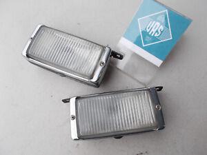 86 MERCEDES 560SL R107 Right Left Fog Light pair set 0008205056 107599