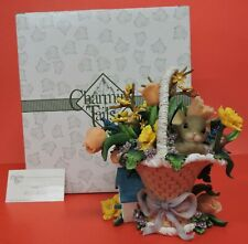 Charming Tails Most You'Re The Most Beautiful Blossom Of Bunch Figurine 98/401