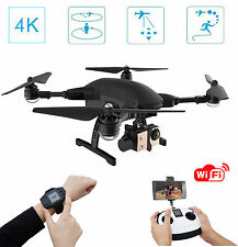 Simtoo Dragonfly foldable helicopter drone UAV with 4k HD camera,GPS watch + R/C
