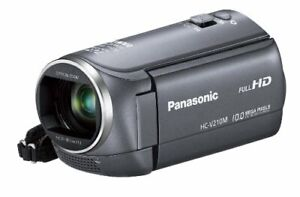 Panasonic Digital Hi-Vision Camcorder V210 Internal Memory 8GB Gray HC-V210M-H