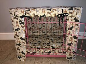 MADE TO MEASURE DOG CRATE/ CAGE COVER / VARIOUS BREEDS