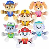 PAW Patrol Plush stuffed Toy SET Marshall Skye Everest Rocky Rubble Chase Doll