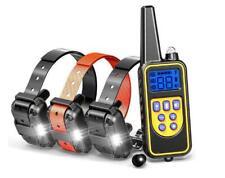 Anti-Bark Electric Shock Dog Pet Training E-Collar Obedience Remote Control BL