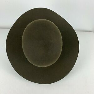 New with Tags Stetson Pikes Peak Sage Hat size 7 Unisex Excellent Condition