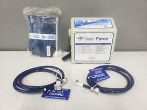 Medline Vaso-Force DVT Pump MDS600 W/ Tubing & Standard Foot Garment