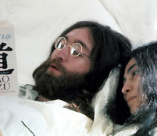 John Lennon and Yoko Ono UNSIGNED photograph - L2315 - In 1969