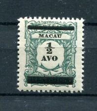 1910 MACAU MACAO CHINA  1/2 AVO PORTEADO STAMP WITH INVERTED SURCHARGE MNH