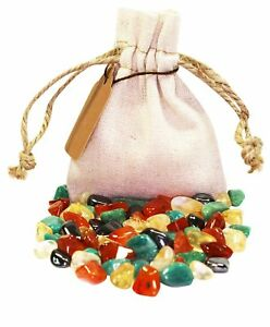 Creativity Power Pouch Healing Crystals Stones Set Tumbled Natural Gemstones