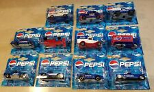 Set of 11 Majorette Pepsi Cola Metal Cars & Trucks Serie 200, Diecast Vehicles