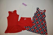 Kombi 2x Kleid Matalan / Primark + Shirt Tu + Shorts, Gr 110 116 (4-6 Jh), neu